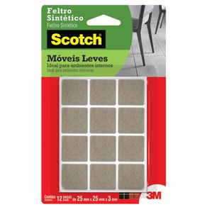 feltro-sintetico-marrom-3m-scotch-quadrado-pequeno-12-unidades