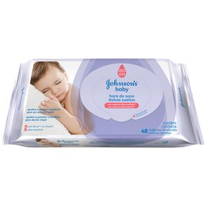 LENCO-UMED-JOHNSON-BABY-48UN-HORA-DO-SONO