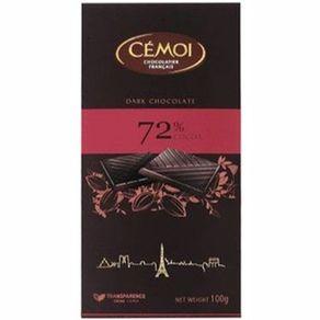 CHOC-FRAN-CEMOI-100G-TA-MEIO-AMARGO-72-