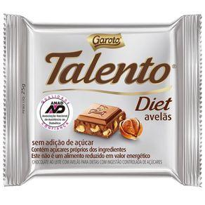 CHOC-DIET-GAROTO-TALENTO-25G-AVELAS