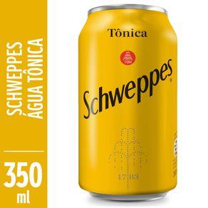 Água Tônica Schweppes Tradicional Lata 350ml