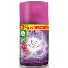 Desodorizador-Bom-Ar-Life-Scents-Freshmatic-Doces-Dias-de-Lavanda-250ml-Embalagem-Promocional