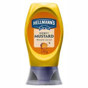Mostarda com Mel Hellmanns Squeeze 170g