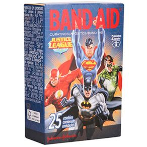 CURATIVO-BAND-AID-DEC-25UN-CX-LIGA-JUSTICA