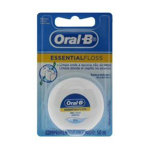 FIO-DENTAL-ORAL-B-ESSENT-FLOSS-50M-1UN-SM-CERA