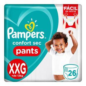 Fralda-Pampers-Confort-Sec-Pants-XXG-26-Tiras