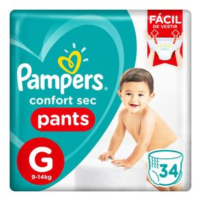Fralda-Pampers-Confort-Sec-Pants-G-34-Tiras