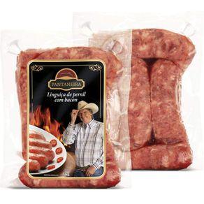 Linguica-de-Pernil-Pantaneira-com-Bacon-Pacote-1-kg