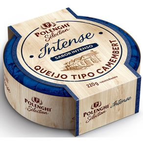 Queijo-Camembert-Polenghi-Select-Intense-Caixa-220-g
