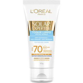 Protetor-Solar-L-Oreal-Facial-Toque-Limpo-FPS70-50ml
