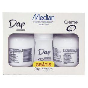 Kit-de-Desodorantes-Dap-Median-02-Desodorantes-Creme-Sem-Perfume-de-55g---Gratis-01-Rollon-Sem-Perfume-30ml