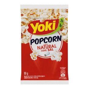 Milho-para-Pipoca-de-Microondas-Yoki-Natural-com-Sal-Pacote-50g