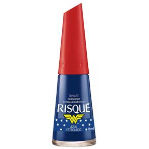Esmalte-Risque-Mulher-Maravilha-Azul-Estrelado-8ml