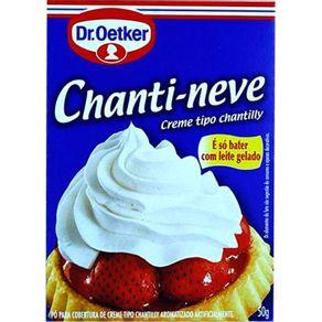 Pó para Cobertura de Creme Tipo Chantilly Dr.Oetker Chanti-Neve 50g