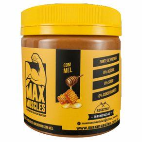 Pasta de Amendoim Max Muscles com Mel 500g