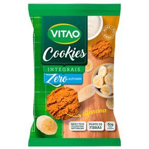 Cookies Integral Vitao Banana Zero Açúcar 80g