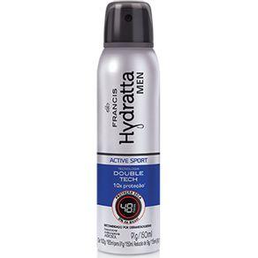 Desodorante Aerossol Francis Hydratta Men Azul 150ml