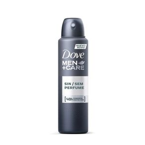 Desodorante Antitranspirante Aerosol Dove Men Sem Perfume 150ml