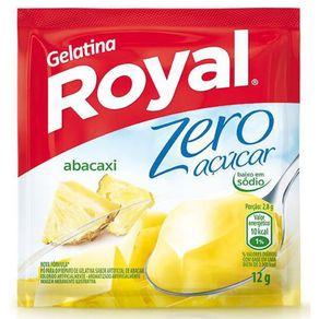Gelatina em Pó Royal Zero Abacaxi 12g