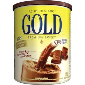 Achocolatado em Pó Gold Diet Sem Glúten Pote 210 g
