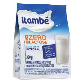 Leite em Pó Itambé Zero Lactose Pacote 300 g