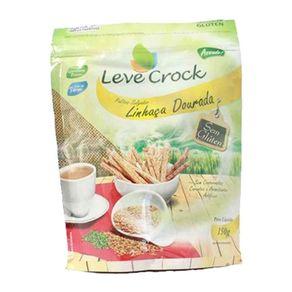 Biscoito Leve Crock Palito Sem Glúten Linhaça Dourada 150 g