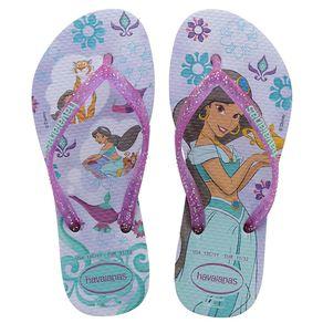 Sandalia-Havaianas-Kids-Slim-Princess-Lavanda-e-Roxo-Nº-31---32-Par-