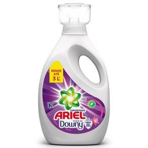 Sabão Líquido Concentrado Ariel com Toque de Downy 1,2L