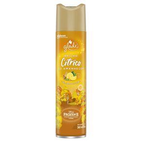 Desodorizador Glade Aerossol Cítrico 360ml