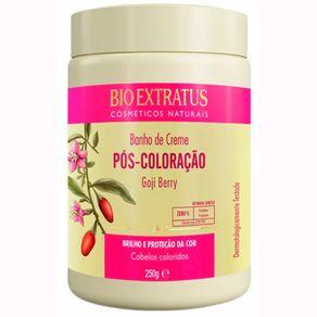 Banho-de-Creme-Bio-Extratus-Pos-Coloracao-Goji-Berry-Brilho-e-Protecao-da-Cor-250g