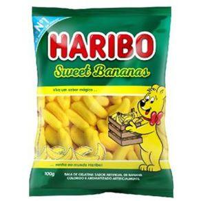 Bala-Gelatina-Haribo-Sweet-Bananas-100g