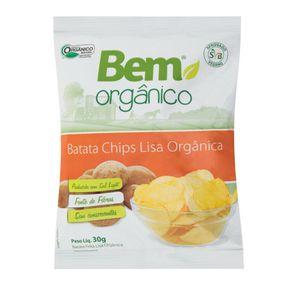 Batata-Bem-Organico-Chips-Lisa-Pacote-30-g