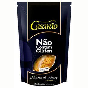Massa-de-Arroz-Casarao-Integral-Sem-Gluten-Fusilli-Pacote-200-g