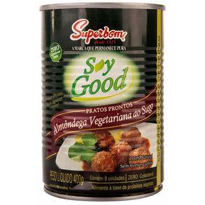 Almondega-Vegetariana-Soy-Good-Ao-Sugo-Lata-400g