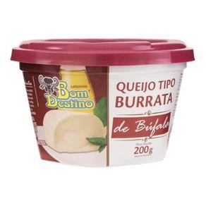 Queijo-Mucarela-de-Bufala-Bom-Destino-Burrata-Tradicional-Pote-200-g