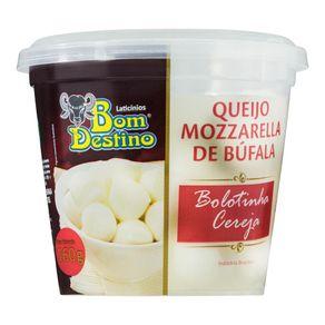 Queijo-Mucarela-de-Bufala-Bom-Destino-Bolotinha-Cereja-Pote-160-g