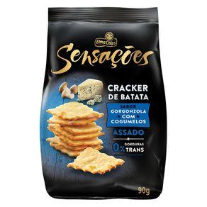 Salgadinhos-Elma-Chips-Sensacoes-Cracker-Batata-Gorgonzola-com-Cogumelos--90g