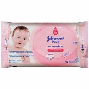 Lencos-Umedecidos-Johnson-s-Baby-Extra-Cuidado-com-48-Unidades
