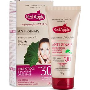 Protetor-Solar-Red-Apple-Facial-Fps30-60g