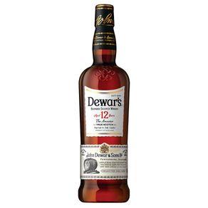 Whisky Escocês Dewars Reserva 12 anos 1L