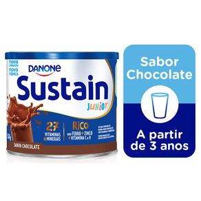 Complemento-Alimentar-Sustain-Junior-Chocolate-Lata-350g