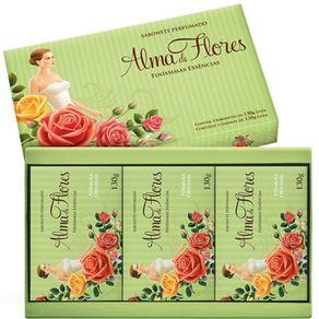 Estojo-Alma-Flores-Classico-Com-3-Sabonetes-130g