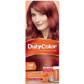 Tintura-Duty-Color-7.66-Louro-Medio-Vermelho-Intenso