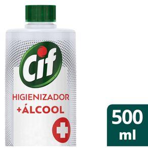 Higienizador-Alcool-Cif-Original-Refil-500ml