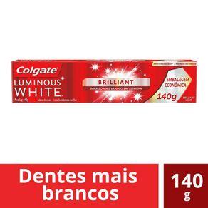 Creme-Dental-Colgate-Luminous-White-Brilliant-140g