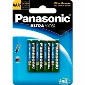 Pilha-Panasonic-UltraHyper-AAA-4un