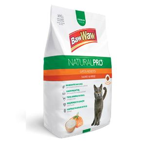 Racao-BawWaw-Natural-Pro-Para-Gatos-Adultos-Sabor-Salmao-e-Arroz-1kg