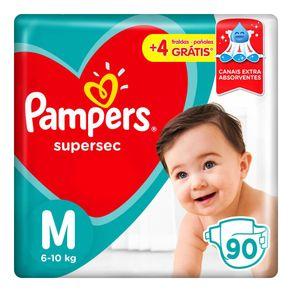 Fraldas-Pampers-Supersec-M-90-Tiras