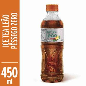 Cha-Pronto-Leao-Ice-Tea-Pessego-Zero-450ml