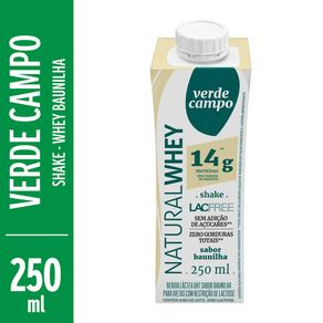 Shake-Verde-Campo-Natural-Whey-Lacfree-Baunilha-250ml